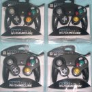 Brand New Lot of 4 New Controllers for Nintendo GameCube or Wii -- BLACK