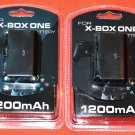 New 2x Rechargeable Battery Packs for XBOX ONE Wireless Controller w/ USB Cables