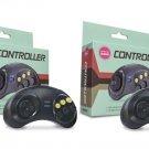 Brand New Set of two 6 SIx Button Sega Genesis Gamepad Controllers