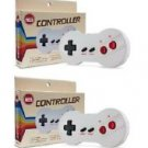 Brand New Set of 2 Nintendo 8-Bit NES Dogbone Controllers