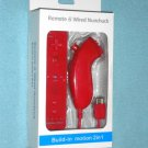 Brand New Remote w/ Built-in Motion Plus & Nunchuk for Nintendo Wii or Wii U
