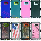 Brand New Defender Rugged Case for Samsung Galaxy Note 5 w/Belt Clip&Screen Protector