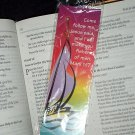NEW FISHING HOOK PIN & BOOKMARK SET Come follow me, Jesus said, and I will make you fishers of men