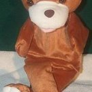 ZOO BROWN BEAR PUPPET NEW THEATER Children's Forest Animal Full Whole Body Hand Toy
