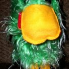 PLUSH BIRD PUPPET CHILDREN'S School Home Fun Green Toucan Kids Parrot Hand Toy