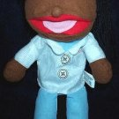 MAN DOCTOR PHYSICIAN PUPPET Children's School Home WOMAN DR Career Hand Toy