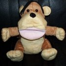 "BROWN & TAN MONKEY PUPPET CHILDREN'S 10"" Zoo/Jungle Kids LARGE SAFARI Animal Hand Toy"