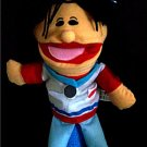 WOMAN SCHOOL REGISTERED NURSE PUPPET Children's Home RN Working Career Kids Hand Toy