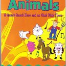 TWIN SISTERS FARM ANIMALS Book Cassette Kids 2 pc Set