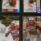 Melvin Gordon 4 Cards, Badgers Uniform in all