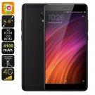 "Android Phone Xiaomi Redmi Note 4X - SnapDragon 625 CPU, 2GHz, 3GB RAM, 5.5"" Display (Black)"