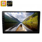 2 DIN Android 6.0 Car Media Player - 10.1 Inch Display, Touch Screen, GPS, Bluetooth, Google Play