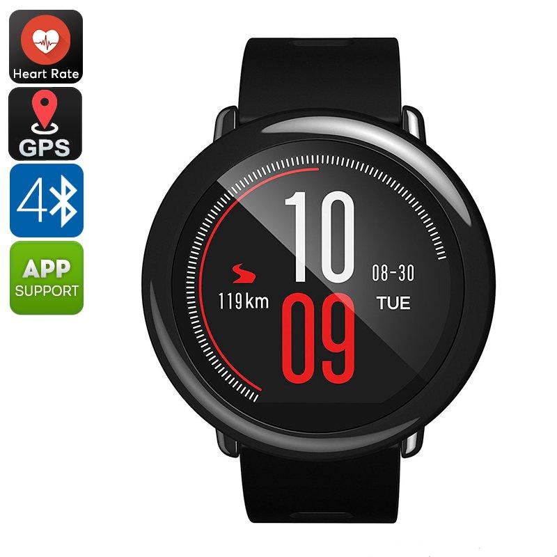 Xiaomi AMAZFIT Bluetooh Smart Watch - GPS, PPG Heart Rate Sensor, Push Notification