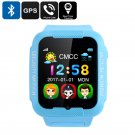 Child GPS Watch - 1.63 Inch Touch Screen, GPS Tracking, Geo-Fence, Pedometer, Phone Calls