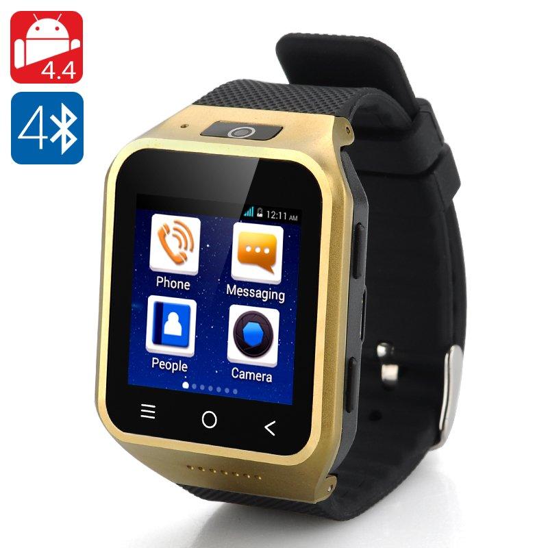 ZGPAX S8 Android 4.4 Watch Phone - Dual Core CPU, 1.54 Inch Display, 512MB RAM, 4GB Internal Memory