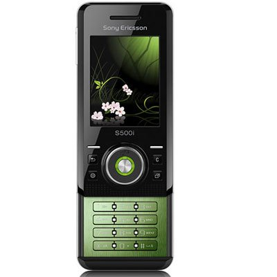 Sony Ericsson S500 / S500i Unlocked Quadband GSM Phone (Mysterious Green)