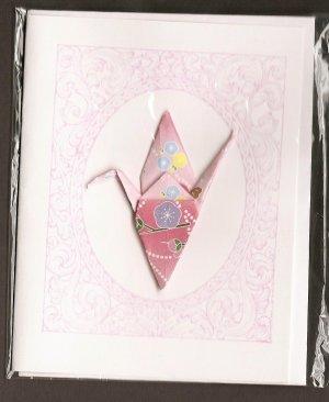 Crane: Pink Framed