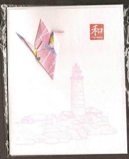 Pink Crane (Peace)