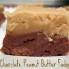Chocolate Peanut Butter Bi-Layer Fudge Fudge 1lb