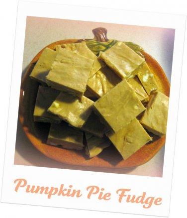 Pumpkin Pie Fudge 1lb