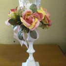 SOLD  Vintage Shabby Chic Candle Holder