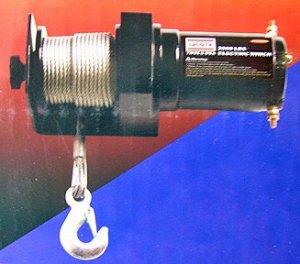 2000 Lbs 12 VAC Winch - Metal Body