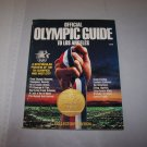 official olympic guide to los angeles 1984 magazine / book