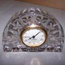 ghorham desk clock