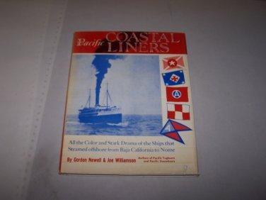 pacific coastal liners gordon newell joe williamson hc book 1959