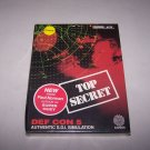 def con 5 commodore 64/128 game 1987 cosmi nib