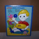 little jack horner picture puzzle 1964 ideal toy corporation