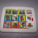 bananas in pajamas slide puzzle 1993 tomy rat in the hat