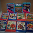 intellivision 11 game lot games with boxes