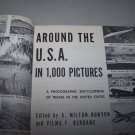 around the u.s.a. in 1000 pictures hc book 1955