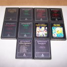atari 2600 10 game lot carts only
