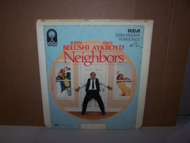 neighbors videodisc 1982 columbia pictures