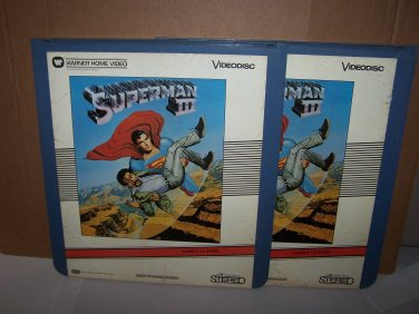 superman 3 videodisc
