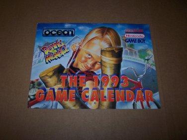 1993 game calendar ocean video games