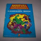 marvel superheroes campaign book 1991 tsr marvel