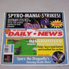 spyro mania strikes playstation underground demo disc 1998