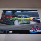jarrett & labonte stock car racing adv poster video game