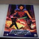 star wars masters of tera kasi poster 1998 video game adv poster