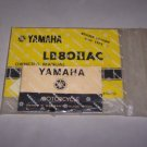 yamaha lb80IIac motorcyle owners manual and warranty book with bag