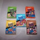 chex cereal pocket trivia card game lot of five games
