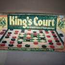 kings court vintage board game supercheckers 1989 western pub