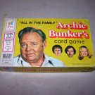 archie bunker's card game all in the family 1972 milton bradley
