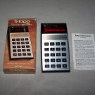 calculator texas instruments t1 1000 5 function calculator 1977