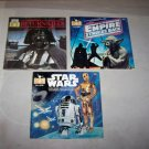 star wars empire strikes back return of the jedi book and records