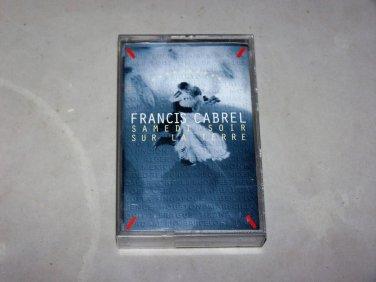 francis cabrel samedi soir sur la terre music cassette french