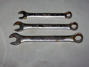 toolking wrenches lot of three tools